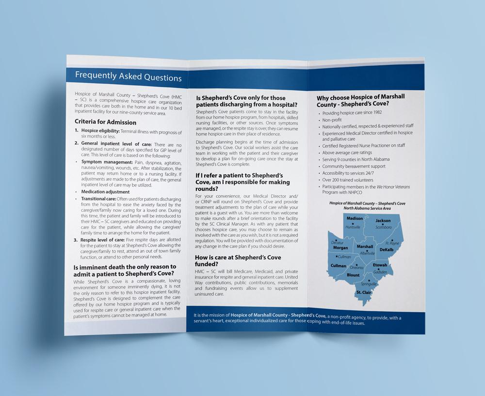 Hospice of Marshall County Brochures – iamcourtneykyle